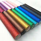 Fine Glitter Sparkle Fabric Twinkle Leather Vinyl Craft Applique Decor Material