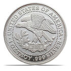 Vintage United States Of America Silver Eagle 1 ozt 999 Fine Silver Coin D05