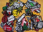 Lot of Wholesale Music Rock Band Metal Punk Iron On Patch toppe toppa Sew Pack