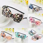 Women Girls Ladies Bow Knot Floral Flowers Hair Band Headband
