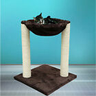 Cat Tree Tower Condo Furniture Scratching Post Kitten Play House Toy Hammock Bed