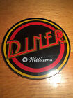Williams Diner Pinball Machine Plastic Promotional Promo Puck NOS