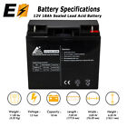 12V 18AH SLA Replacement Battery for Generac 7500 EXL Portable Generator