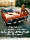DODGE CHALLENGER Poster Various Sizes VINTAGE POSTER A