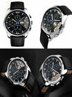 Cakcity Mens Military Watches Business Waterproof And Stopwatch Sport New