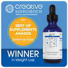 Creative Bioscience 1234 Diet Drops Weight Loss Supplement Fat Burner HCG Free