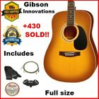 Gibson Acoustic Guitar Full Size +Strap/picks/Extra String Set/lesson DVD,41