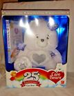 2007 Care Bears 25th Anniversary Bear with DVD Special Collector's Edition