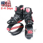 Red Jumping Shoes Jumps Boots Fitness Bounce Shoes Adults Kids Gift