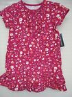 Faded Glory Toddler Girls Dress Pink Floral 100 Cotton Size 24 Months