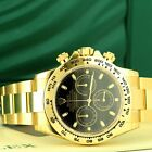 Rolex Men's Daytona 116508 18k Yellow Gold 40mm - New
