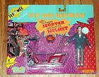 NEW Poseable PEE WEE HERMAN with SCOOTER  Helmet ACTION FIGURE Matchbox