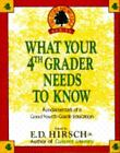 WHAT YOUR 4TH GRADER NEEDS TO KNOW Acceptable Hirsch Jr ED Hardcover