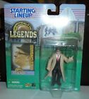 1998  STARTING LINEUP LEGENDS VINCE LOMBARDI  FIGURE & CARD