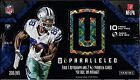2016 Panini Unparalleled Football Hobby Box 8 packs of 10 cards 1 auto