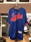 GREG MADDUX SIGNED AUTOGRAPHED ROAD BLUE CHICAGO CUBS JERSEY