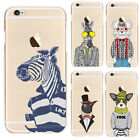 Custom URBAN ANIMALS Mens Fashion Style Funny Novelty Tpu Gel Phone Case Cover