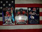 2011 Totally Certified Bowman Sterling Jacquizz Rodgers 3 card autograph RC lot