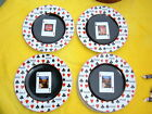Sakura Coca Cola Playing Cards Salad/Dessert Plates 8 1/4