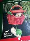 HALLMARK Keepsake 1988 PEEK-A-BOO KITTIES Kittens CHRISTMAS ORNAMENT Vintage NEW