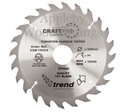 210mm Z=24 Id=30 Trend Hand Held / Portable Saw Blade To Fit Festool TS75