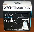 VTG 1968 Weight Watchers New Official Scale USA MIB