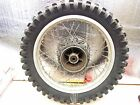1982 YAMAHA YZ 490  OEM REAR WHEEL/TIRE/ /BRAKE  DRUM