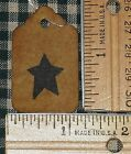 SALE 25 XS STAR PRIMITIVE COFFEE STAINED HANG TAGS price craft show gift USA