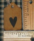 SALE 25 XS Valentines Day HEART PRIMITIVE craft show price gift decor HANG TAGS