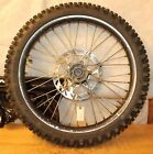 2000 GAS GAS EC250   FRONT WHEEL ASSEMBLY WITH TIRE AND ROTOR