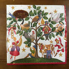 New Pkg Caspari Triple Ply Napkins 12 Days Christmas Stephanie Stouffer 20 Count
