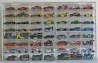 Hot Wheels Display Case 56 Compartment For 1 64 Scale Nascar Diecase Pixar Car