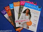 WEIGHT WATCHERS Weeklies 2011 and 2012 NEW Lot of 6