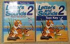 A Beka Grade 2 Letters and Sounds Test Key  Phonics Seatwork Text Abeka Books