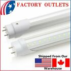 4 100 Pack G13 LED 20w 4ft Foot T8 Fluorescent Tube Lights 6000K 4000K3000K B2