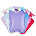 Large PVC Rubber HOT WATER BOTTLE Bag WARM Relaxing Heat Cold Therapy 2 Liter