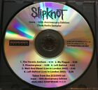 Slipknot Iowa 10th Anniversary Edition Clean Radio Promo Sampler CD 2011 Rare