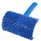 uxcell Rubber Wood Graining Pattern Wall Painting Decoration DIY Tool Blue