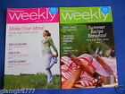 Weight Watchers Weeklies July 15 21 2012 and August 5 11 2012