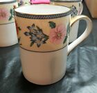 Fitz and floyd American Wildflowers gold trim DISCONTINUED  coffee cup (s)