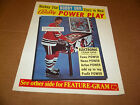 Bobby Orr Bally Power Play Pinball Flyer