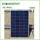 DE Stock 100W 18V Polycrystalline Solar Panel for 12v Battery