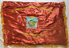 FLAG -  VC Vietcong NVA NLF Flag Victory in VINH LONG Province 1967