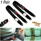 Universal 2 Point Retractable Lap Seat Belt CAR MOTORHOME VAN TRUCK CAMPER BUS