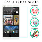 For HTC Desire 816 9H HD Tempered Glass Front Screen Protector Film T4