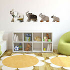 Creative 3D DIY Removable Elephant Mirror Wall stickers Home Decoration Gift