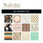 My Minds Eye Double Sided Paper Pad 6X6 24 Pkg Market Street Ashbury Heights