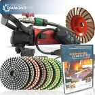 Secco CCGRINDPOLSET 5-Inch Variable Speed Concrete Wet Polishing and Grinding...