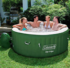 Portable Hot Tubs And Spas Small Jacuzzi Heater Jets Inflatable Coleman 6 Person