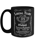 Liberal Tears Black 15oz Mug Deplorables Drink Of Choice